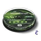 MediaRange 10x DVD+R 4,7GB 16x Cake10 MR453 DVD Rohlinge auf Spindel