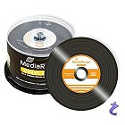 MediaRange Retro VINYL Single CD-R - 80 Min 700MB Schwarz 50 Stk MR225