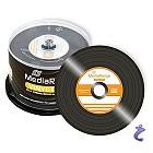 MediaRange Retro VINYL Single CD-R - 80 Min 700MB Schwarz 50 Stk MR225