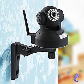 7links fernsteuerbare indoor wlan ip kamera mit sd speicher u infrarot. Black Bedroom Furniture Sets. Home Design Ideas