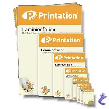 Printation Laminierfolien Übersicht