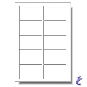Visitenkarten Set Rohlinge Und Layout Software 10 Blatt