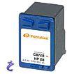Printation HP Nr. 28 XL Farb Patrone doppelte Füllmenge C8728 Refill