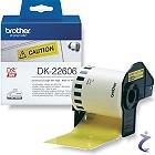 DK-22606 gelbes endlos Filmetikett
