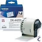 DK-44205 endlos Papier Etikett wieder ablösbar